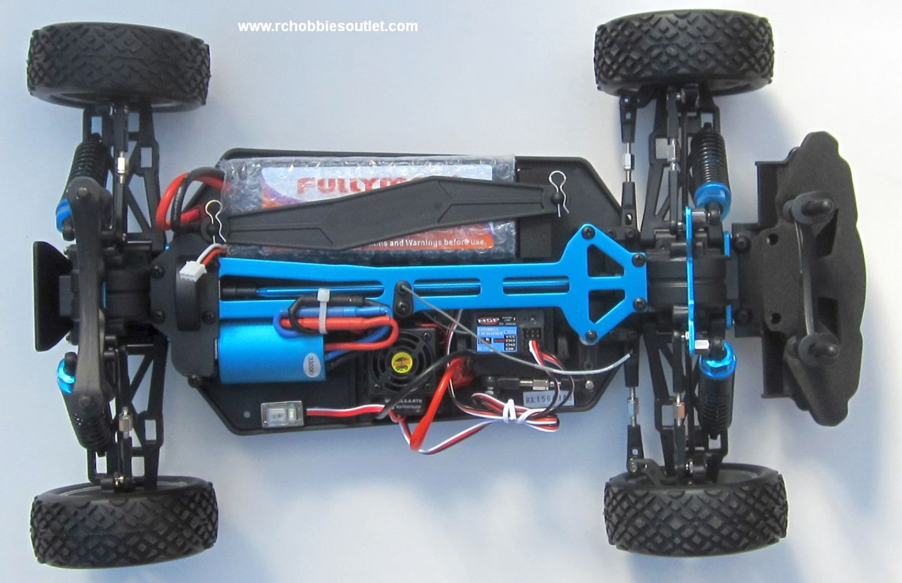 RC Sport Rally Car  Brushless Electric 1/10  Radio Control LIPO 2.4G 4WD  17797