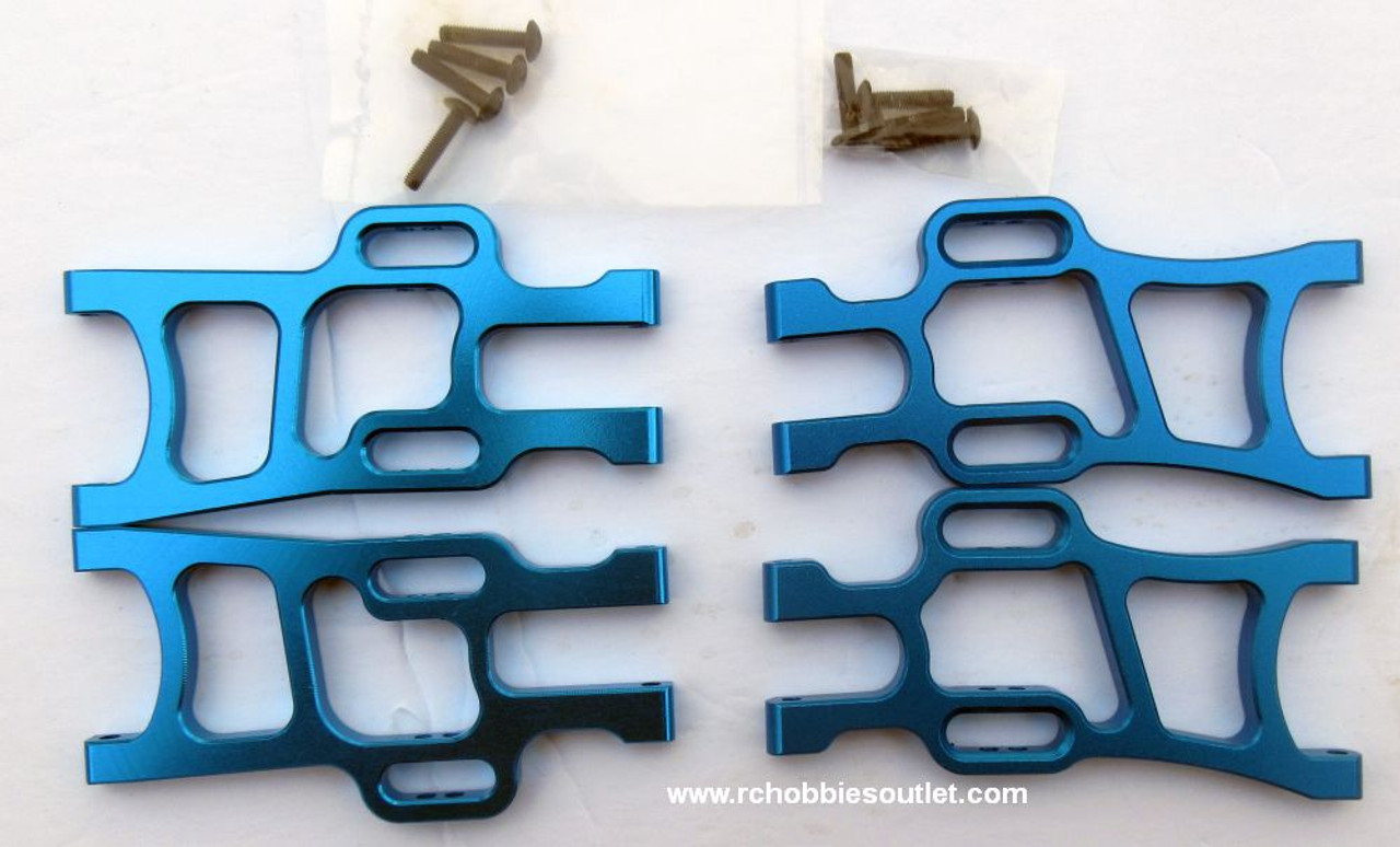 1/10 Scale Lower Suspension Arm Blue Upgrade Bundle 106619 and 106621