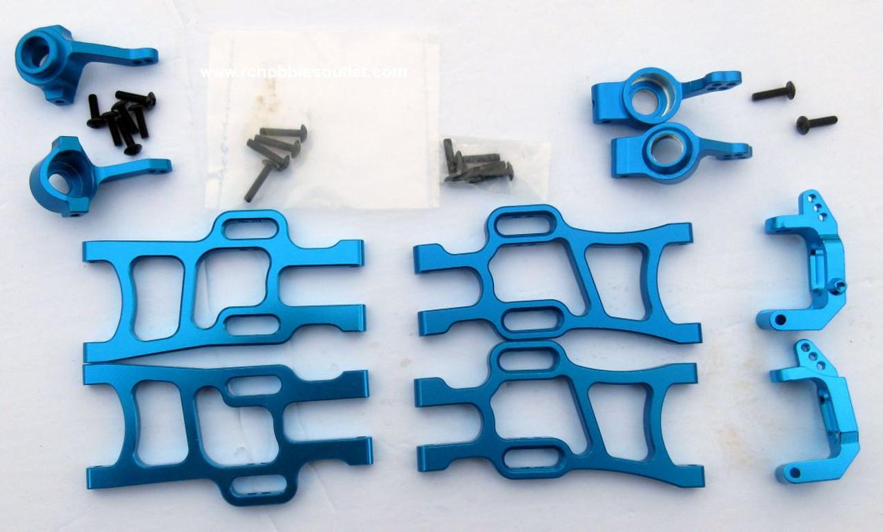 1/10 Scale  Blue Suspension Upgrade Bundle 106619, 106621, 102210, 102211, 102212