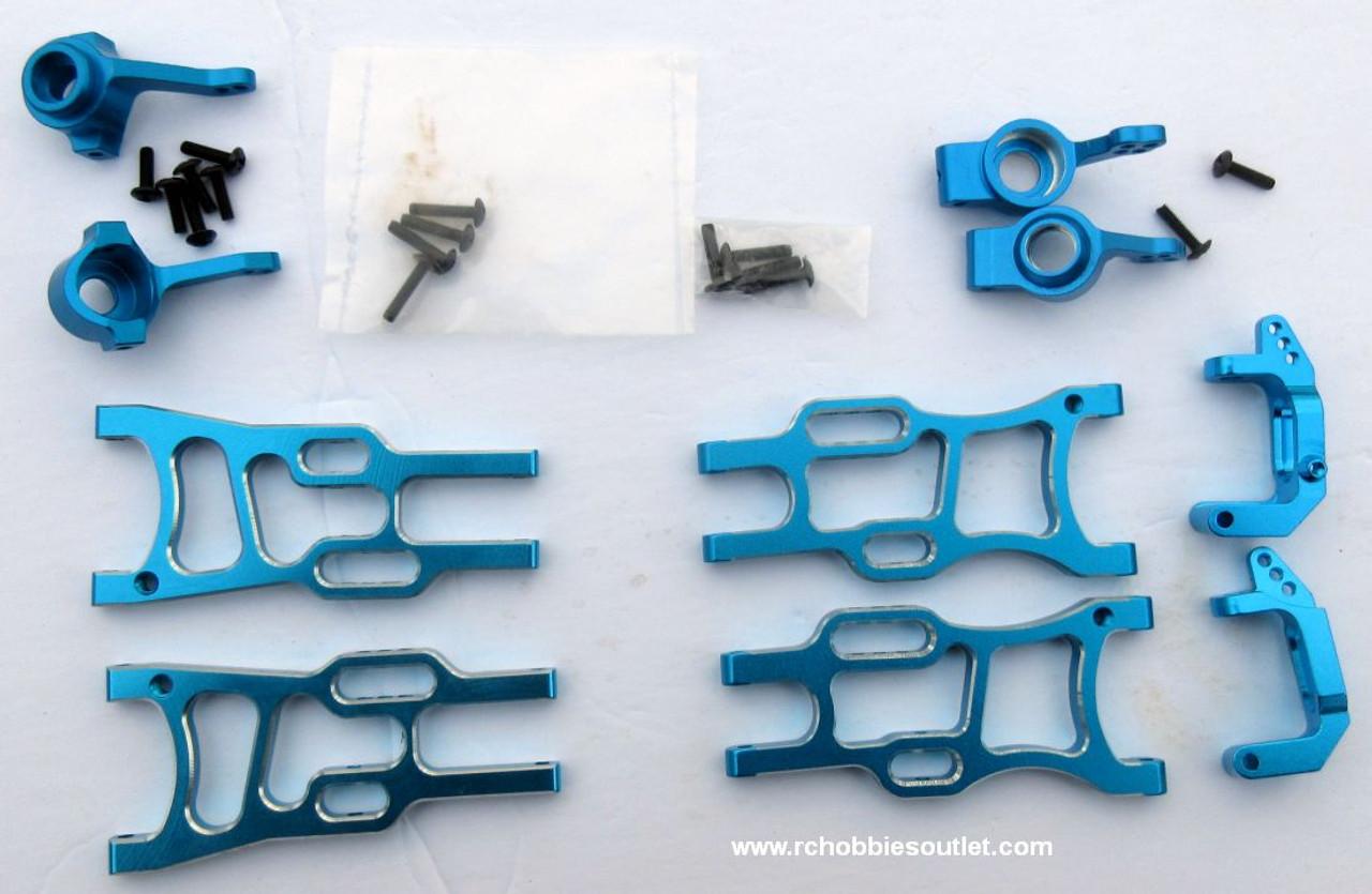 1/10 Scale  Blue Suspension Upgrade Bundle 108819, 108821, 102210, 102211, 102212