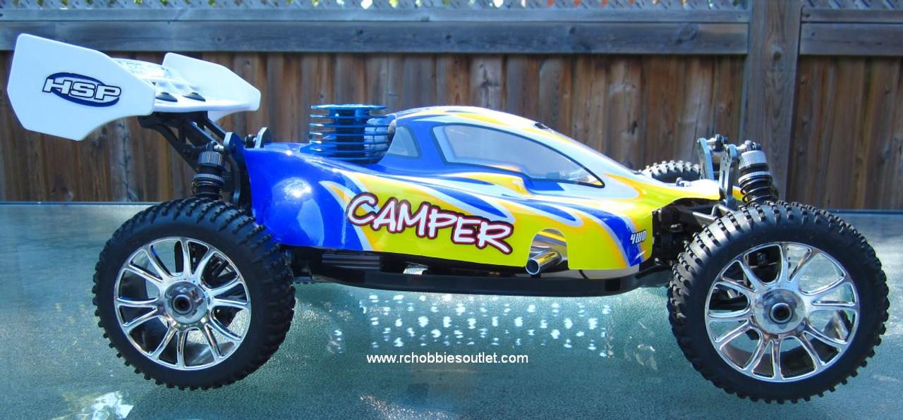 RC Nitro Buggy / car 1/8 scale