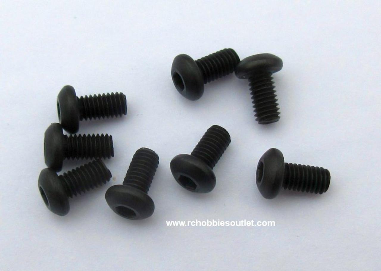 14586 Cap Head Hex  Machine Screw   3*6    8 Pieces