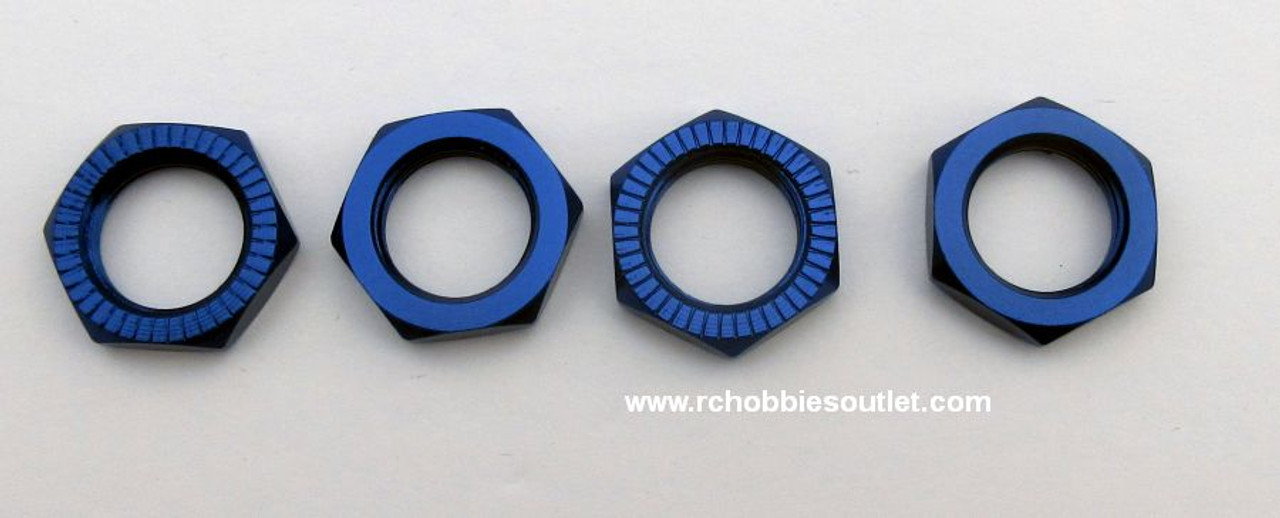 81212 Blue Rotary Wheel Nut HSP Redcat 1/8  Scale