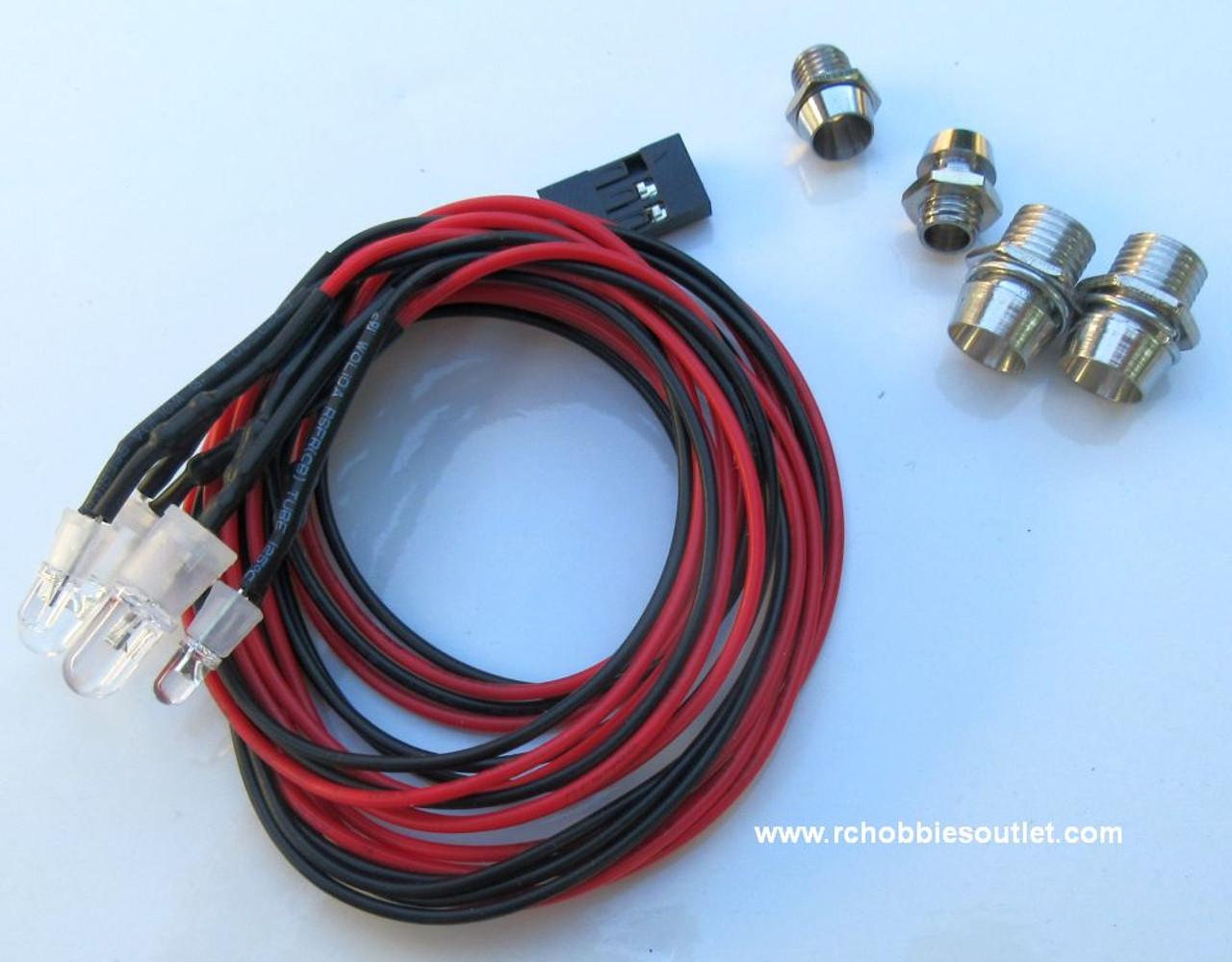 4 LED Light Kit for RC Truck  / Car