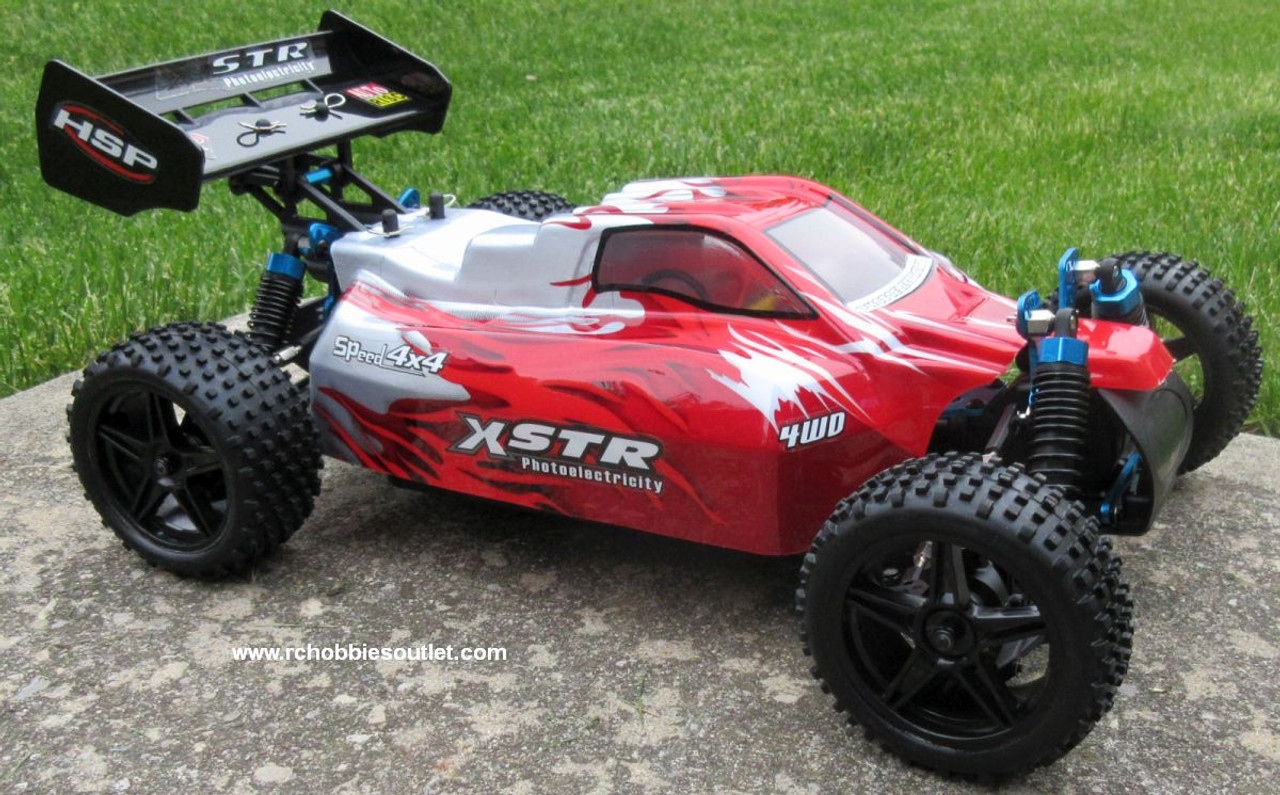 RC Car /.Buggy  Electric 1/10 Scale  2.4G 4WD  RTR  10750