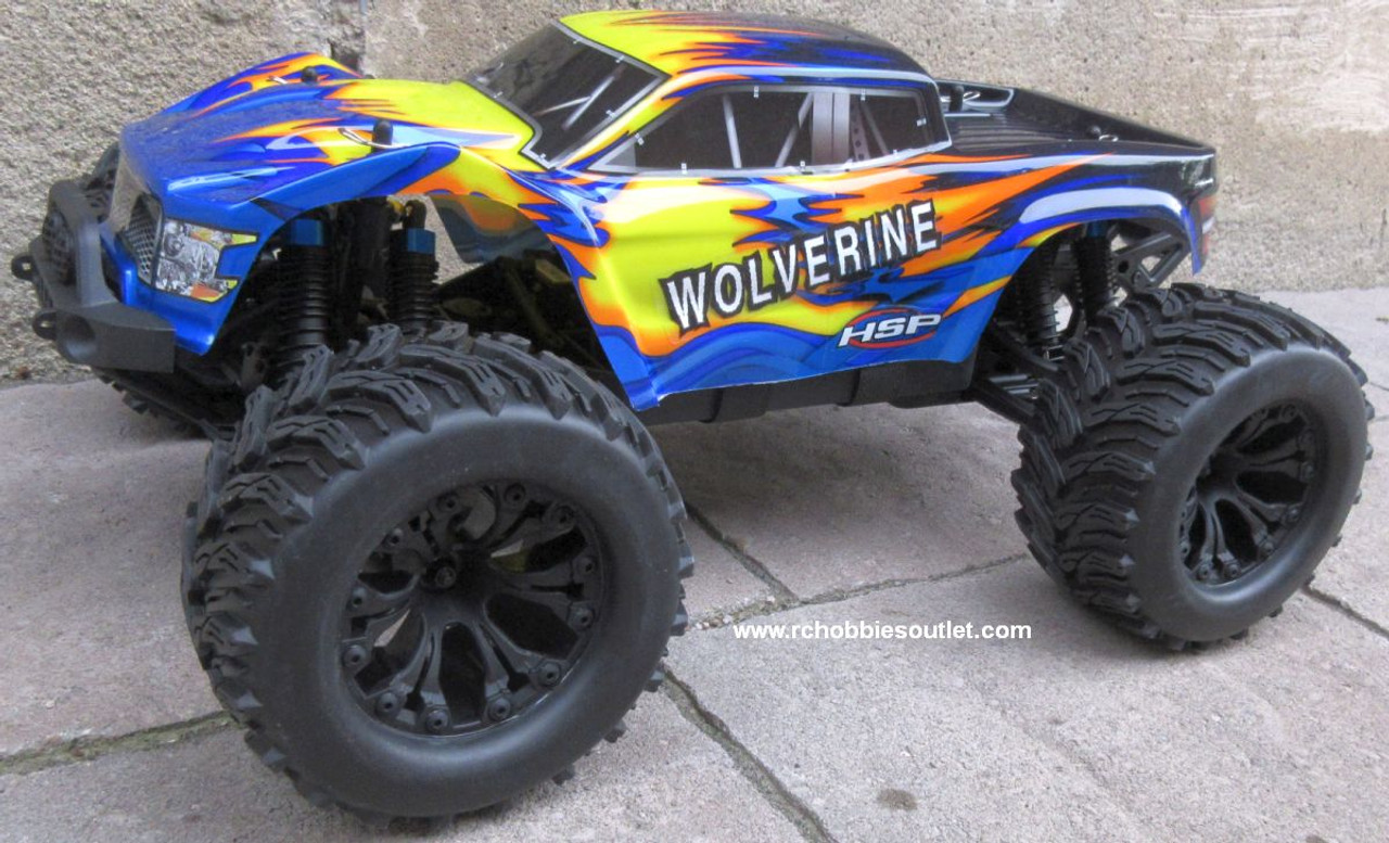 Wolverine  RC Truck Electric 1/10 Scale  4WD 2,4G 70191