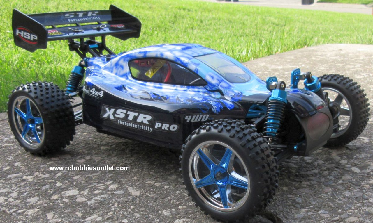 RC Buggy / Car  Brushless Electric HSP 1/10  XSTR-PRO LIPO 2.4G 4WD 10738B