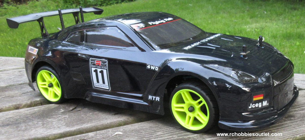 RC  Race Car HSP Brushless Electric 1/10 Scale Pro LIPO  4WD 2.4G GTR -Y
