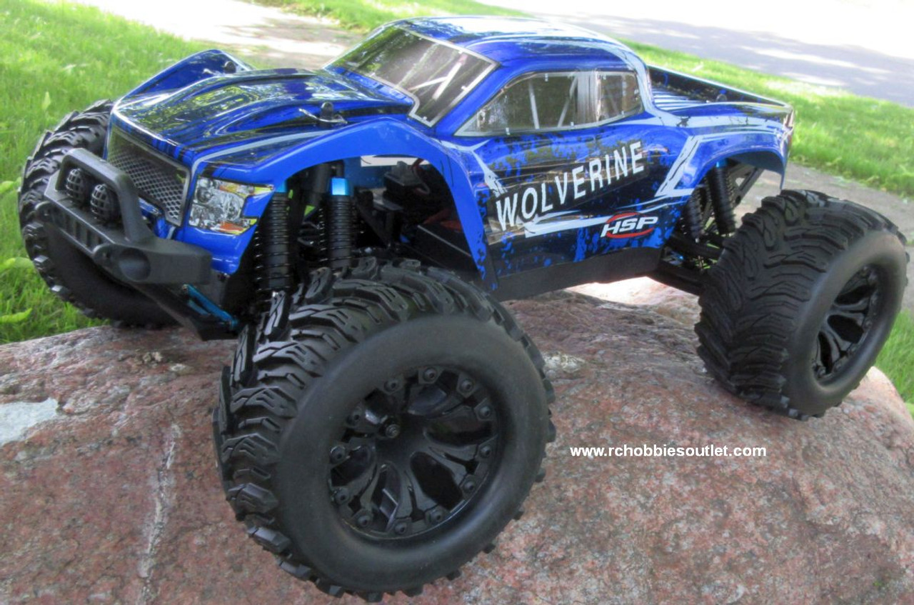 Wolverine Pro RC Truck Brushless Electric 1/10 4WD LIPO 2,4G 70194