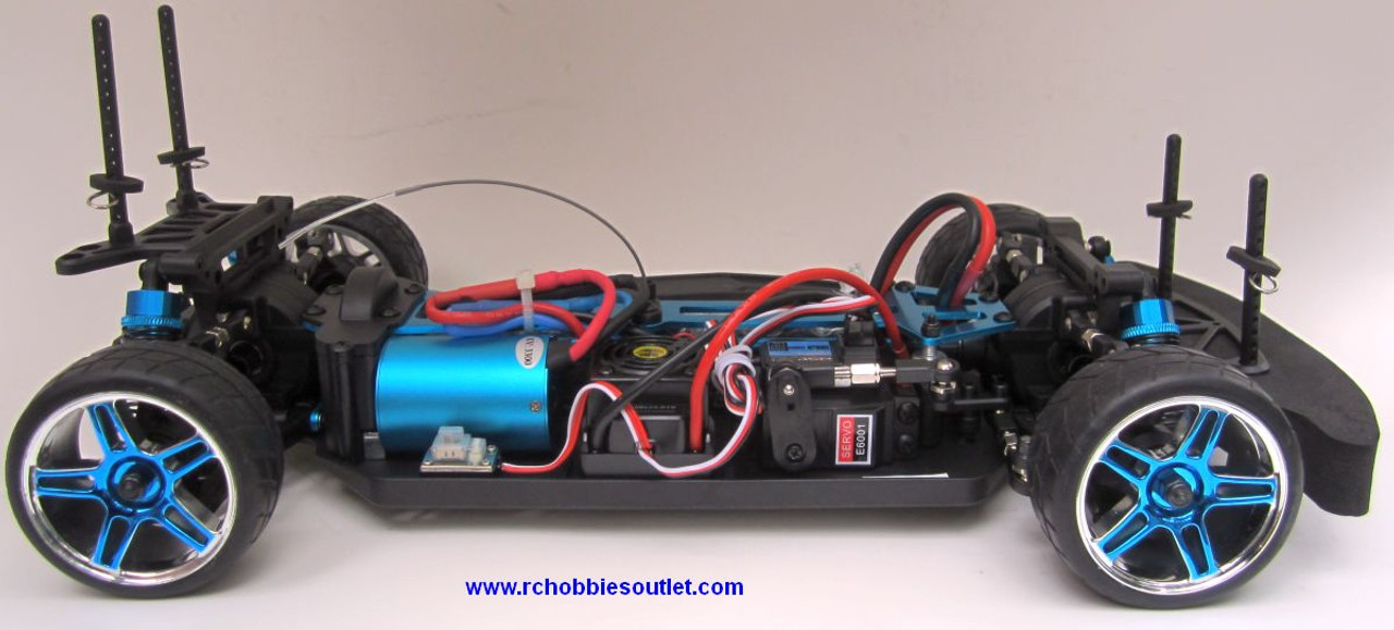 RC  Race Car HSP Brushless Electric 1/10 Scale Pro LIPO  4WD 2.4G 01033-A