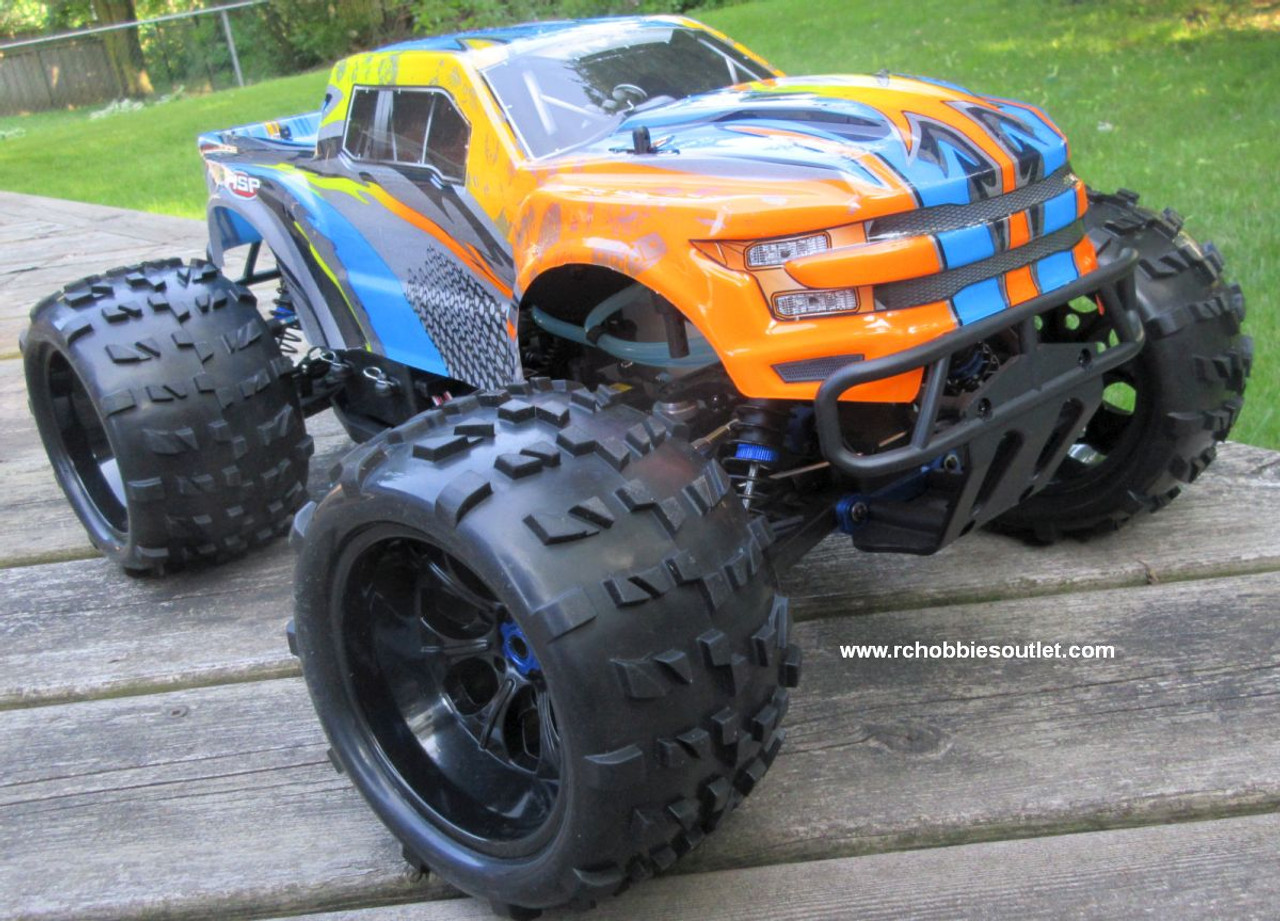 RC Nitro RC Truck 1/8 Scale  Savagery 4.25cc Engine  4WD  2.4G 97091