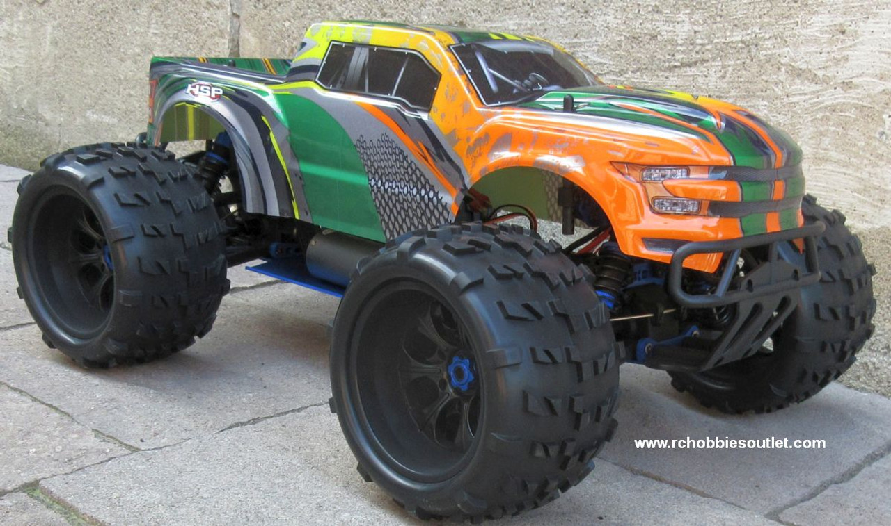 RC Brushless Electric Monster Truck Top 2 ET6 1/8 Scale 4WD 2.4G  87293