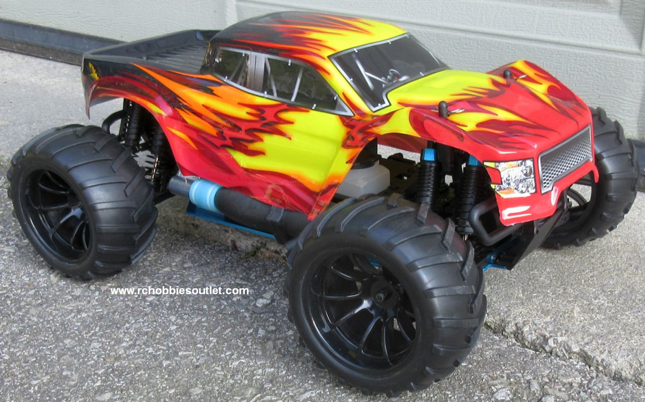 RC Nitro Gas Monster Truck HSP 1/10 Scale 4WD 2.4G RTR 70192