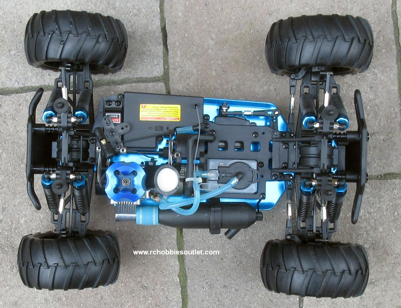 RC Nitro Gas Monster Truck HSP 1/10 Scale 4WD 2.4G RTR 70191