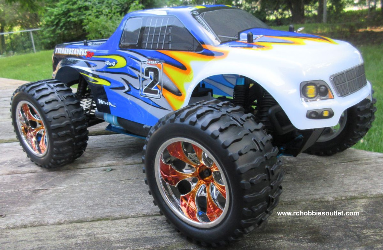 RC Nitro Gas Monster Truck HSP 1/10 Scale 4WD 2.4G RTR YX10111G