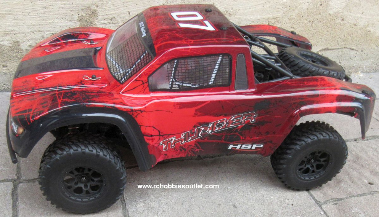 Thunder Pro RC Short Course Truck Brushless Electric 1/10 4WD LIPO 2,4G 70792