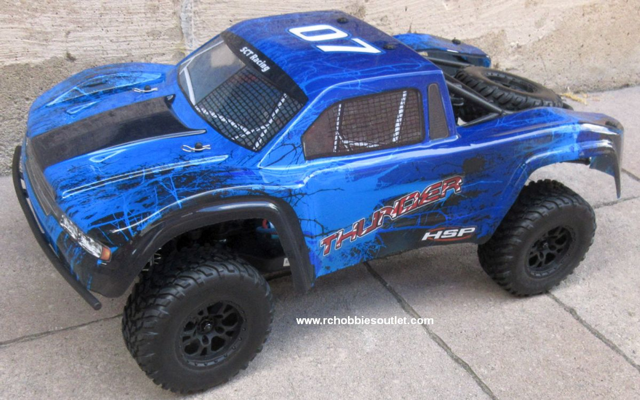Thunder Pro RC Short Course Truck Brushless Electric 1/10 4WD LIPO 2,4G 70791