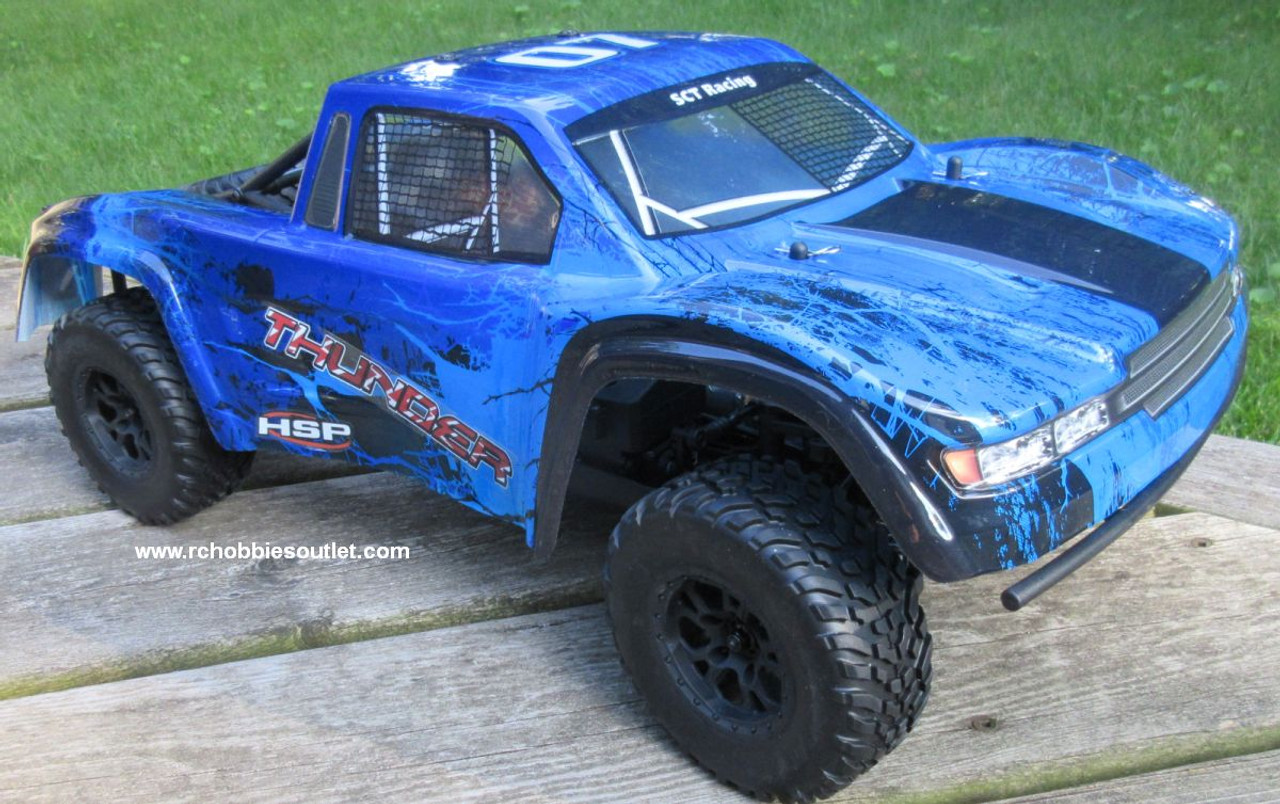 Thunder RC Short Course Truck Electric 1/10 Scale  4WD LIPO 2,4G 70791