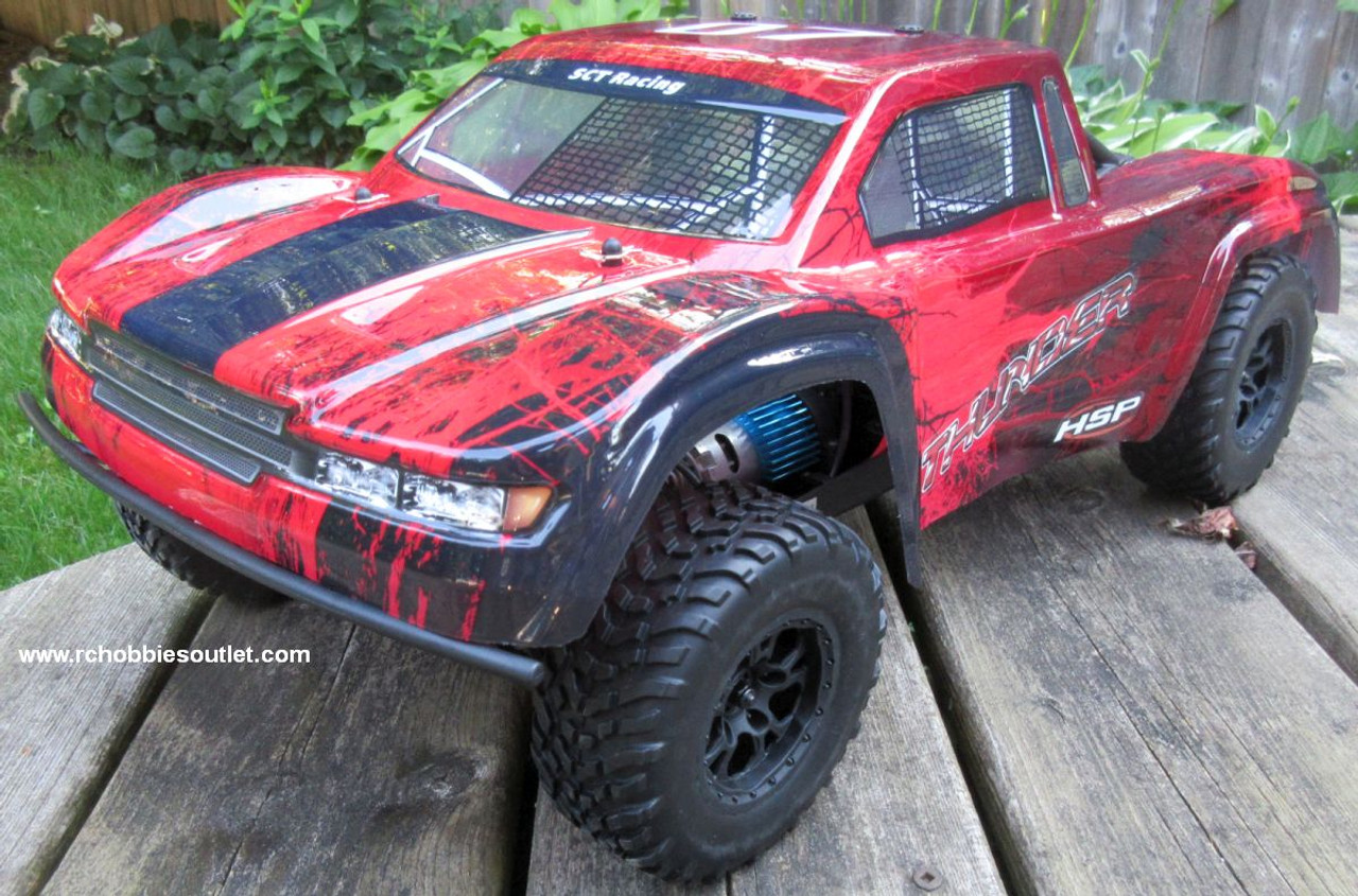 Thunder RC Short Course Truck Electric 1/10 Scale  4WD LIPO 2,4G 70792