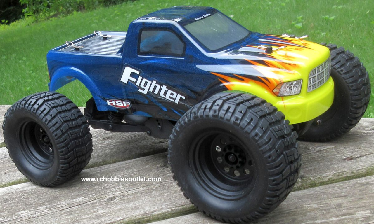 RC Electric Truck HSP FIGHTER 1/16 Scale 4WD 2.4G  Ready to Run 82891
