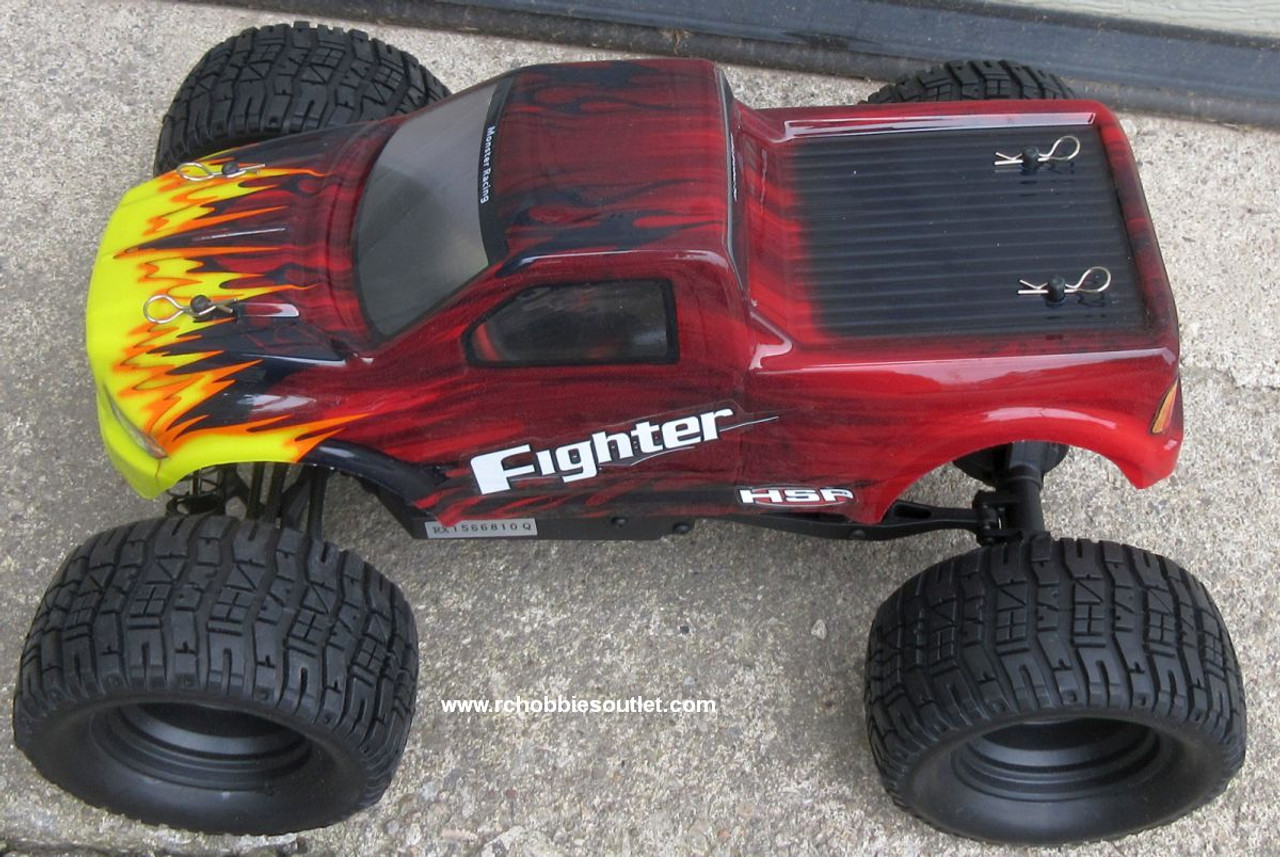 RC Electric Truck HSP FIGHTER 1/16 Scale 4WD 2.4G  Ready to Run 82892