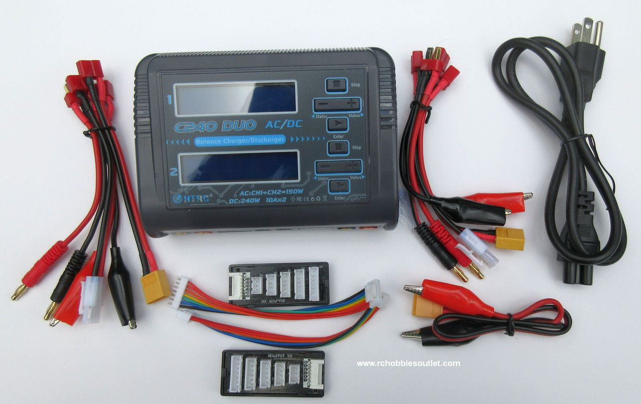 HTRC C240  DUO Dual Fast Charger