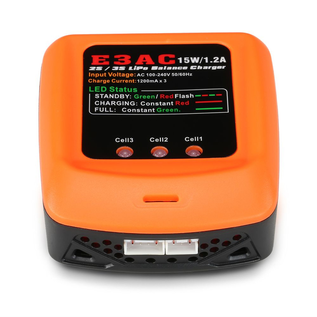 CE3AC 15W/1.2A  LiPo Balance Charger for 2S/3S LiPo Battery