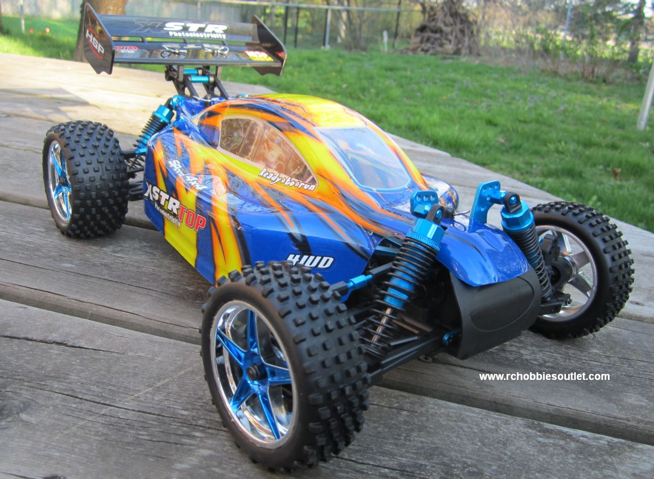 RC Brushless Electric Buggy / Car HSP 1/10 scale XSTR-TOP2 11.1v LIPO 2.4G 10718