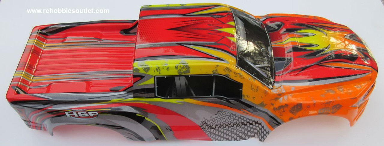 97292 Body Shell for 1/8 Scale Truck Precut HSP.  Redcat