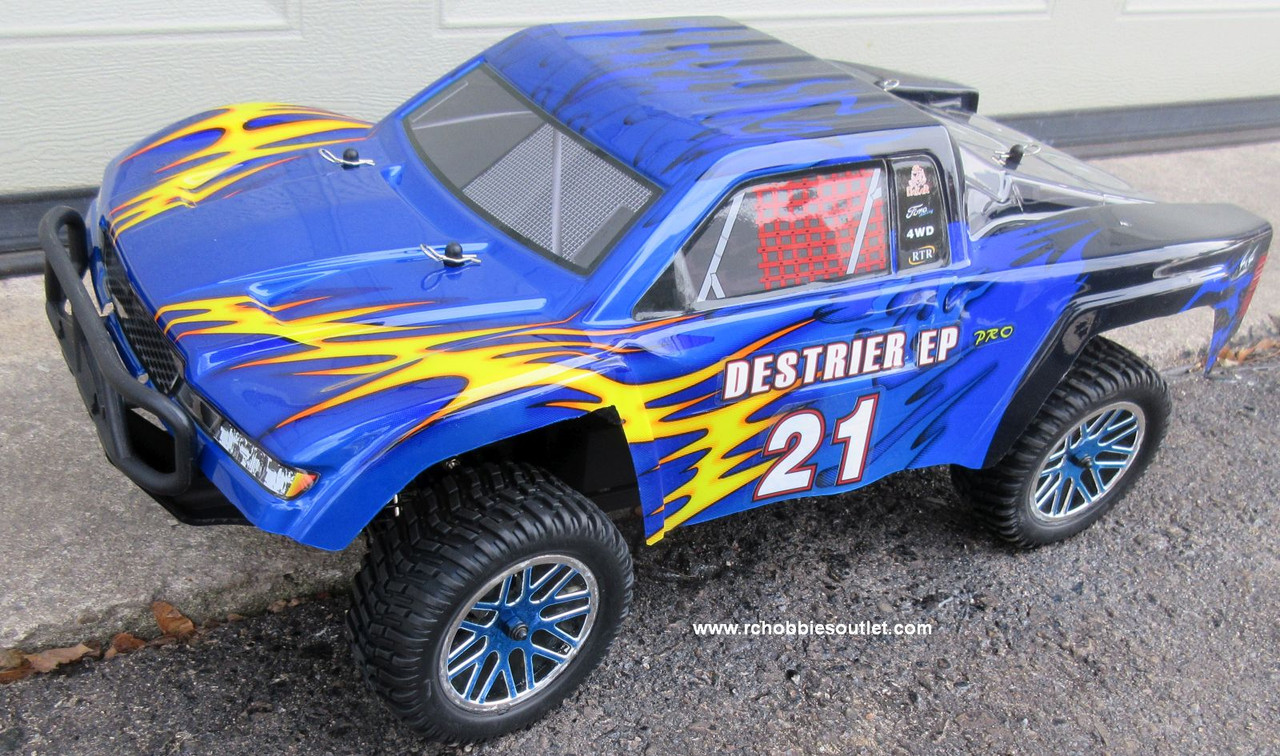 RC Short Course Truck Brushless Electric 1/10 LIPO 4WD 2.4G RTR 15595