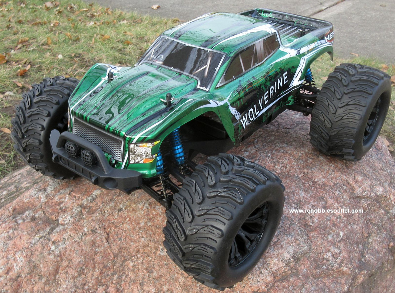 Wolverine Pro RC Truck Brushless Electric 1/10 4WD LIPO 2,4G 70196