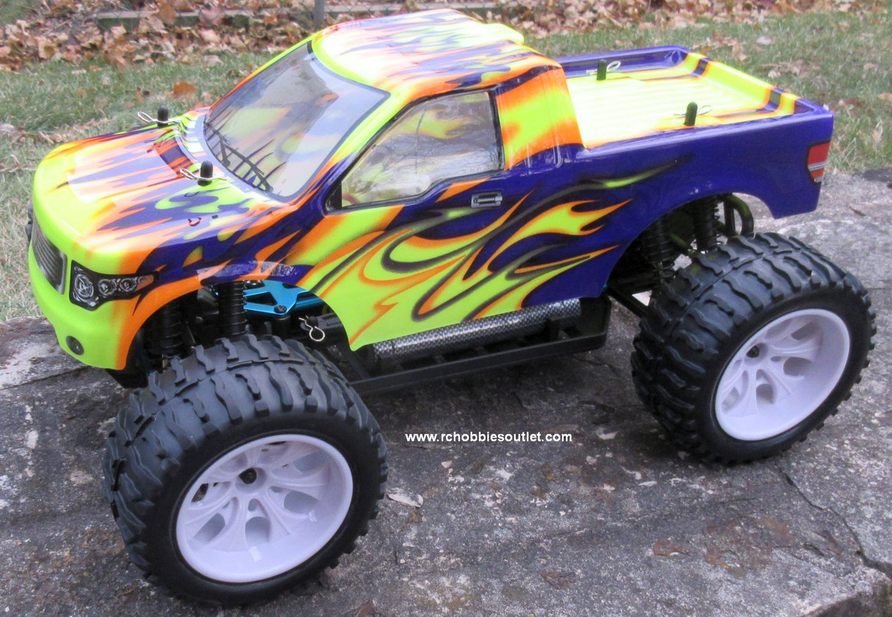 RC Electric RC Monster Truck  1/10 Scale 4WD Off Road RTR  88071