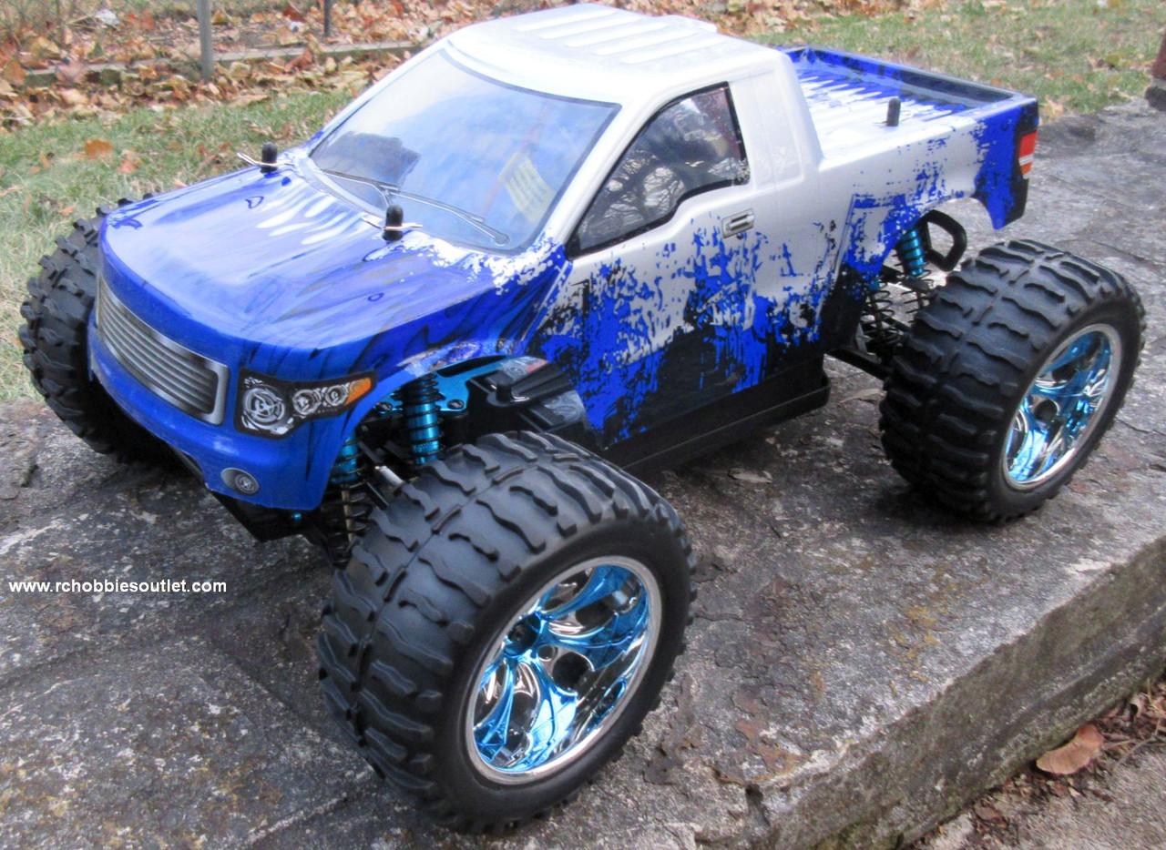 RC Monster Truck Brushess Electric 1/10 PRO LIPO 2.4G 4WD 88074