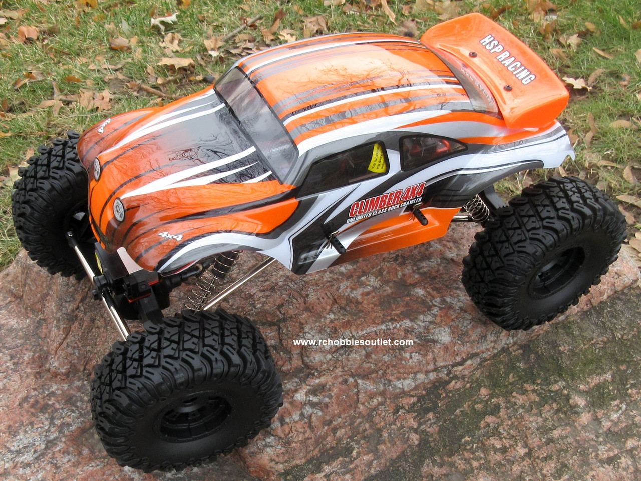 RC Rock Crawler Truck Climber Electric 1/10 Scale RTR 2.4G 4WD 88217