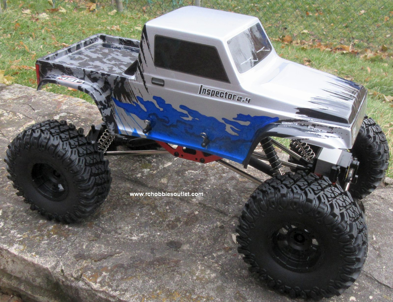 RC Rock Crawler Truck Inspector Electric 1/10 Scale RTR 2.4G 4WD 11091