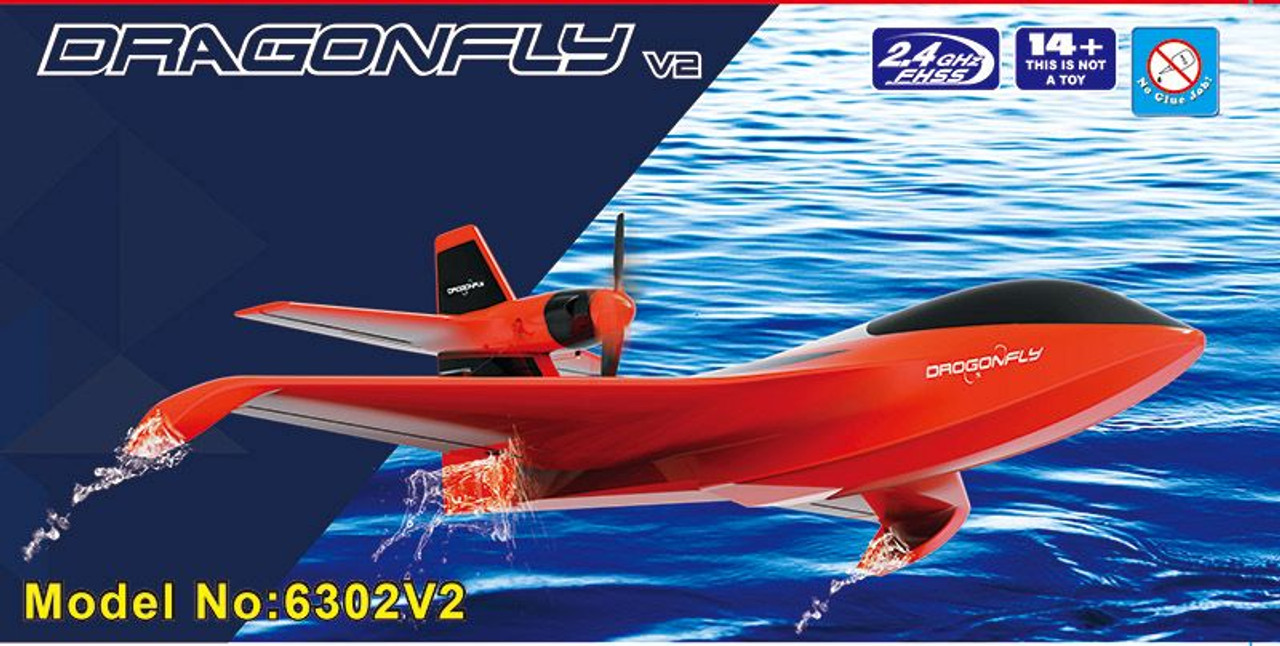 RC Airplane ARTF  All Terrain Flight  Brushless  Joysway DRAGONFLY V2 6302