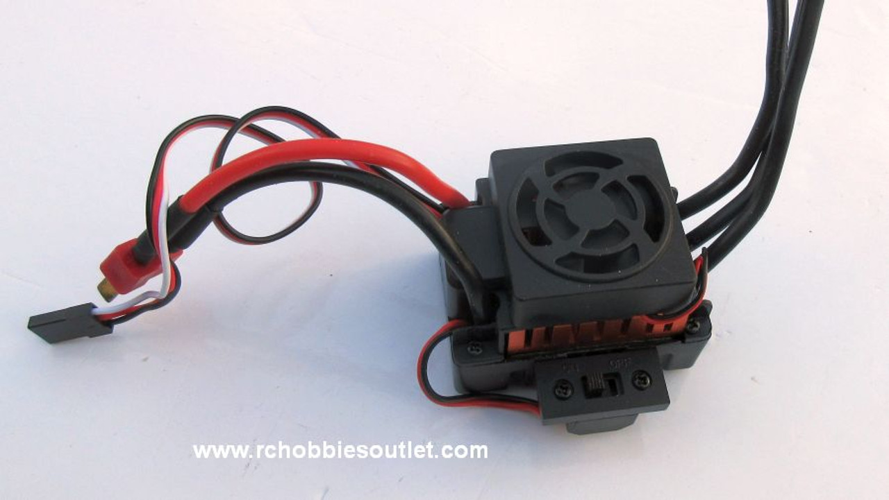 37017 Compatible  Brushless ESC 60 Amp Waterproof Electronic Speed Control