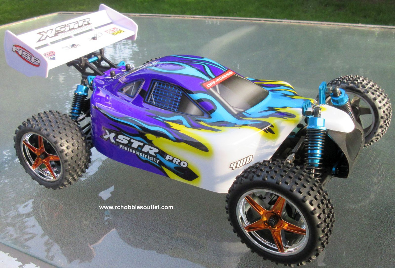 RC Buggy/ Car HSP XSTR-PRO Brushless Electric LIPO 1/10 Scale 4WD  2.4G 10071
