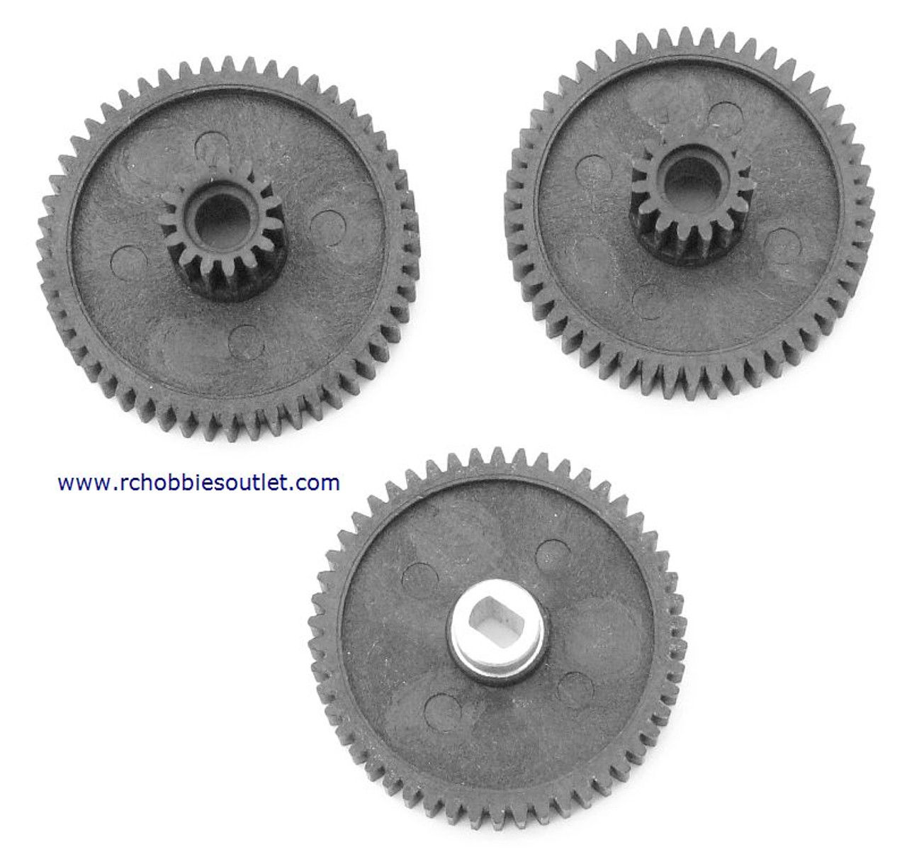 59017 Differential Gear Set for 1/8 scale HSP, Redcat,  Rock Crawler