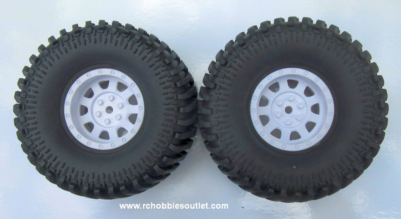 R86192 Premounted Tire and  Wheel Complete ( 1 pair) for HSP Pioneer Crawler
