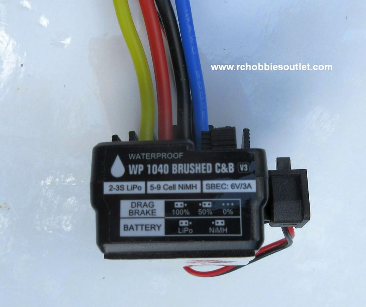 R86074 ESC for HSP, Redcat