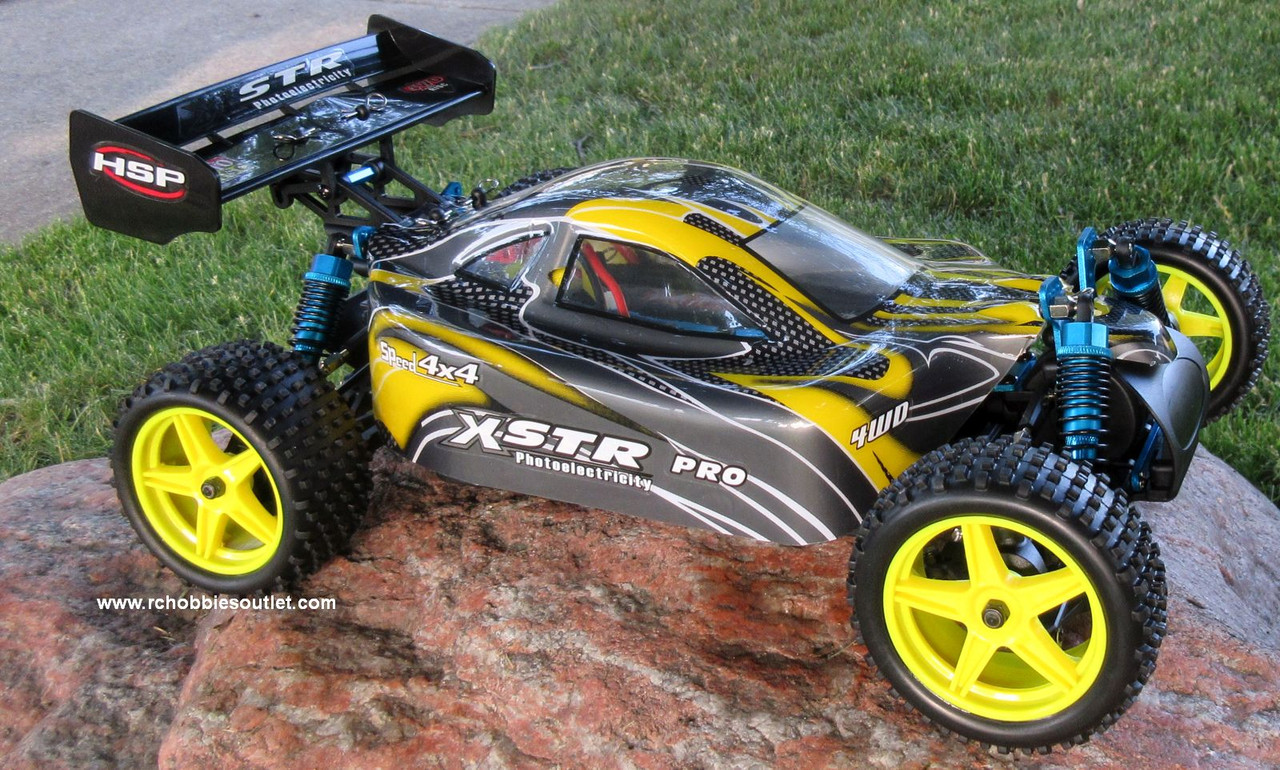 RC Buggy / Car  Brushless Electric HSP 1/10  XSTR-PRO LIPO 2.4G 4WD 10070-2