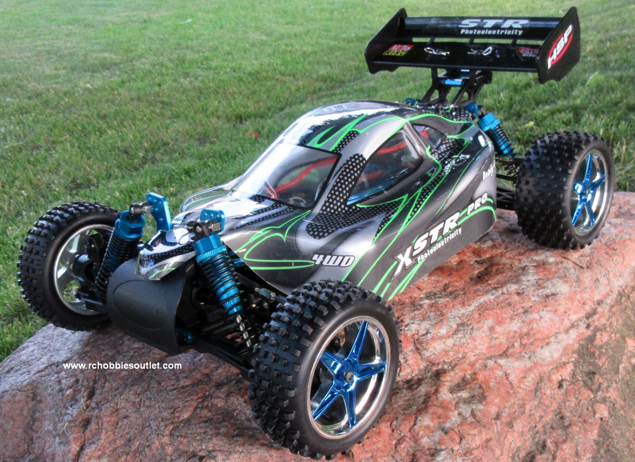 RC Buggy / Car  Brushless Electric HSP 1/10  XSTR-PRO LIPO 2.4G 4WD 10070-1