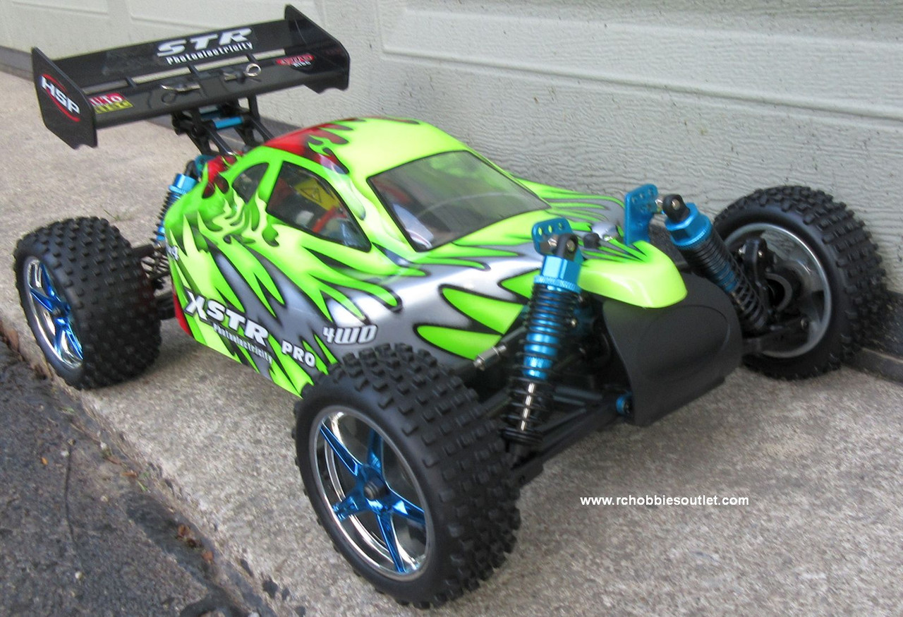 RC Buggy / Car  Brushless Electric HSP 1/10  XSTR-PRO LIPO 2.4G 4WD 10707BL