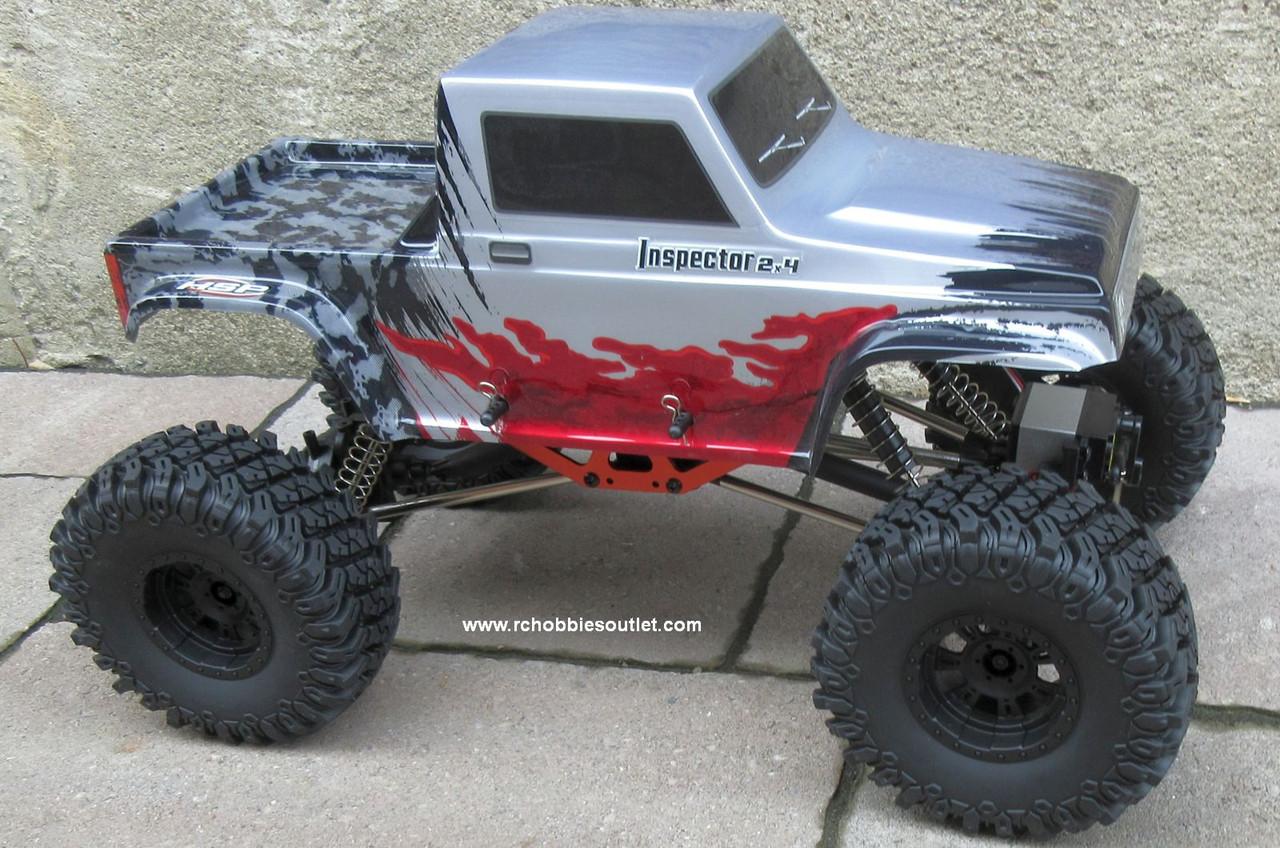 RC Rock Crawler Truck Inspector 4 Wheel Steering 1/10 Scale 2.4G 4WD 11092