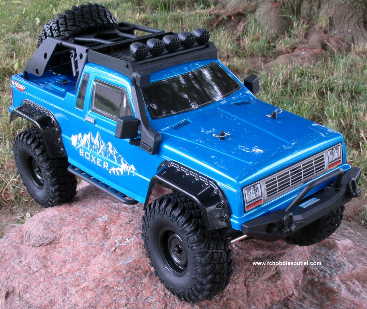 RC PRO 1 Crawler/Trail Truck BOXER Electric 1/10 Scale RTR 2.4G 4WD  70687