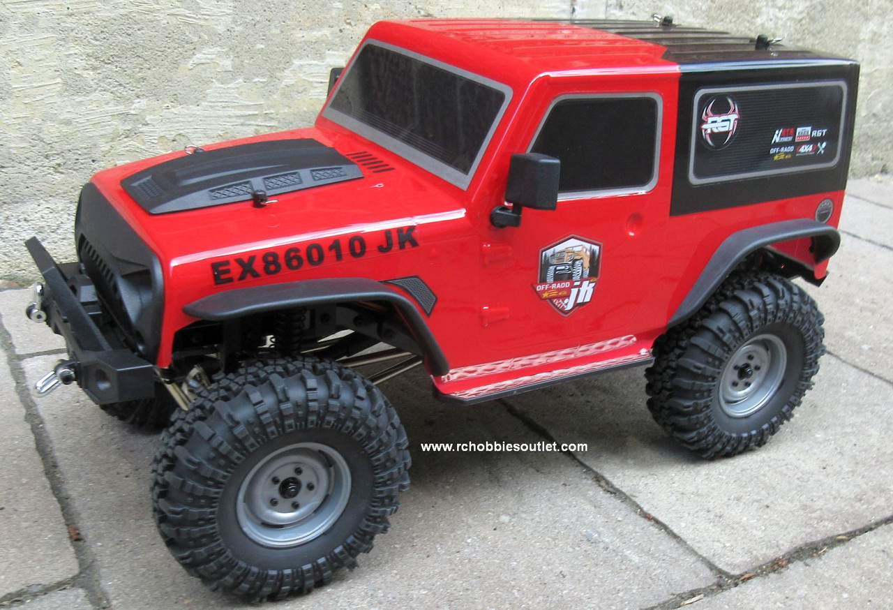 HSP / RGT Pioneer Pro Class Rock Crawler Truck  1/10 Scale RTR 2.4G 4WD  86287-3
