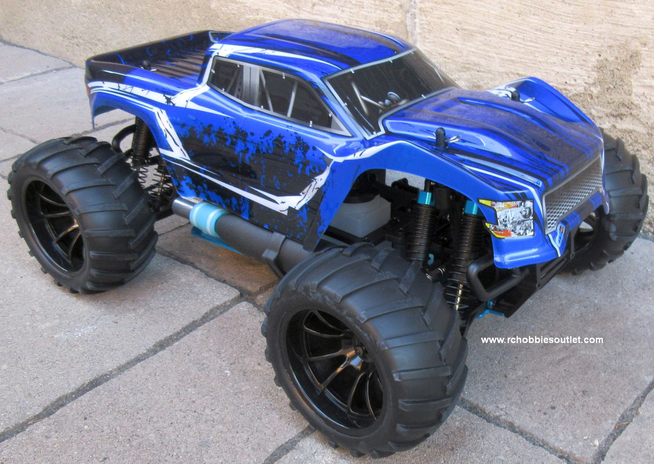 RC Nitro Gas Monster Truck HSP 1/10 Scale 4WD 2.4G RTR 70194