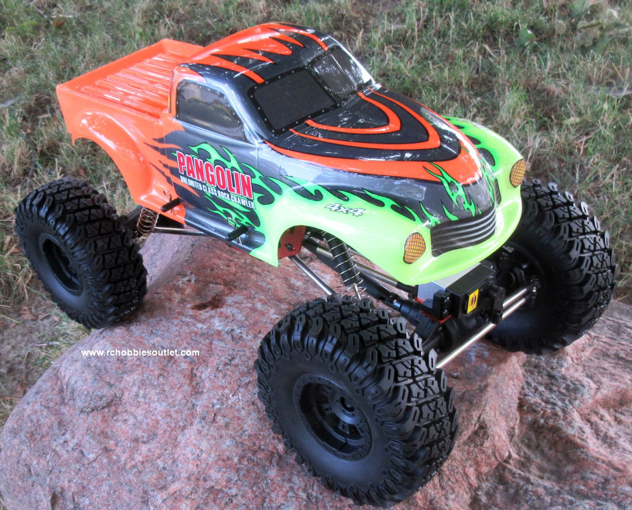 RC Rock Crawler Truck Inspector Electric 1/10 Scale RTR 2.4G 4WD 88028