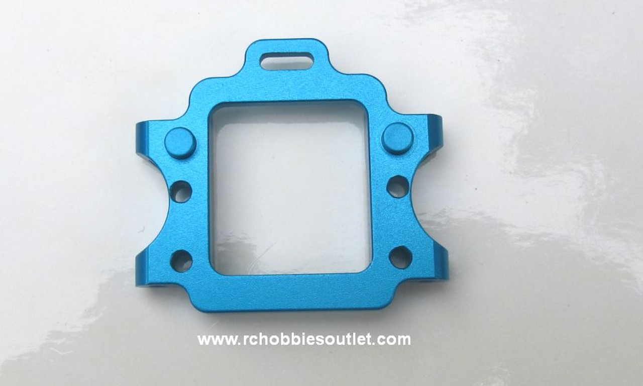 102060 102260 Blue Aluminum  Upgrade Front Gear Box  Mount for 1/10 Scale